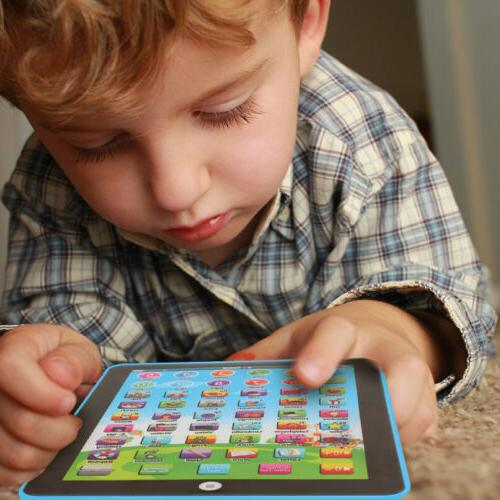 Baby Tablet Toy For 1-6 Year Toddler English