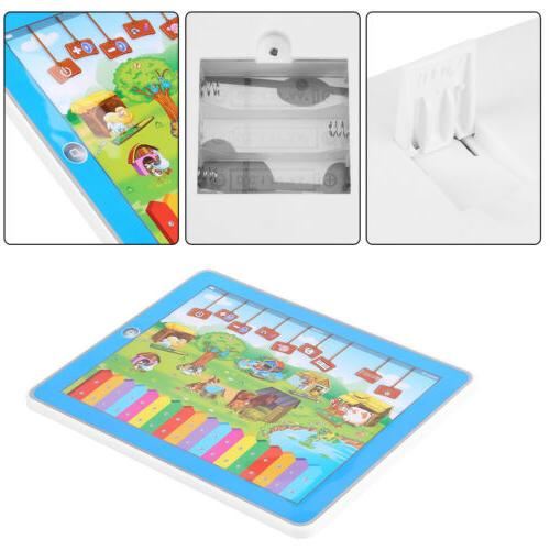Baby Tablet Educational Toys Girls Toy For 3-6 Year English