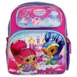 Small Backpack - Shimmer And Shine - Purple Girls 12 New 680