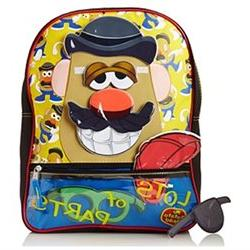 Backpack - Mr Potato Head - w/ Removable Pieces Schoo Bag Ne