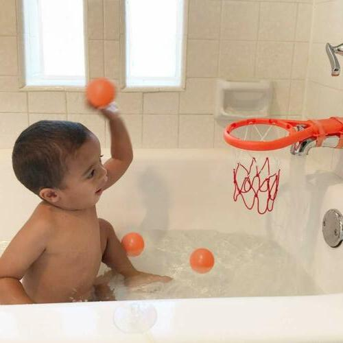 Basketball Hoop Suction Cup Mini Gift for Baby Kids Toddlers