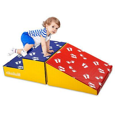 Activity Play Center indoor Climber Stairs and Ramp For Baby
