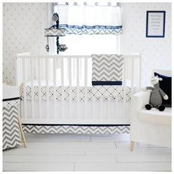 My Baby Sam Out of the Blue 3pc Crib Bedding