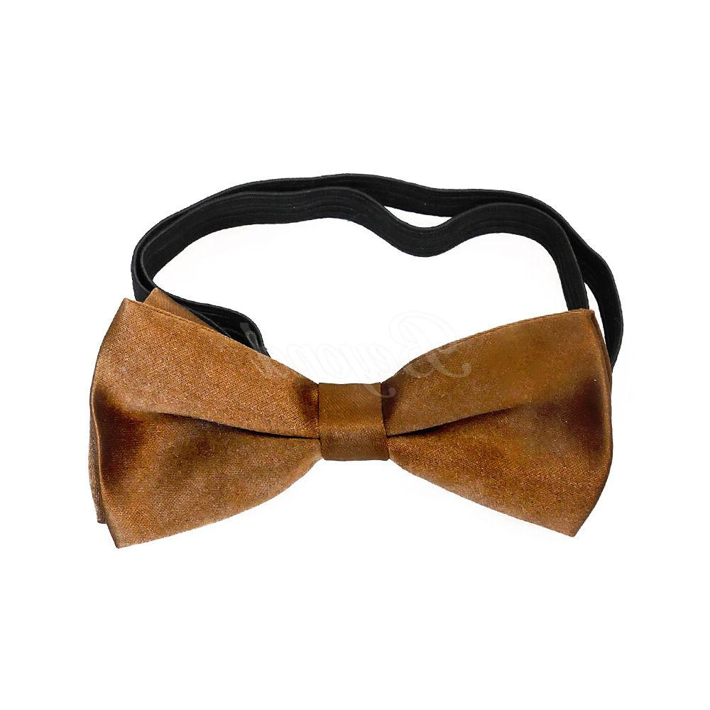 Brown Tie Set Toddler Kids