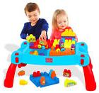 Building Blocks Toys Learning Table Baby Kids Child Learn Pl