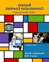 Business Communication Essentials Plus Mybcommlab With Pears