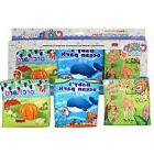 Cloth Book-Set of 3 for Baby Intellectual Development-Soft,F