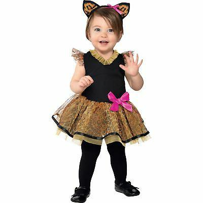 cutie cat costume for babies size 12