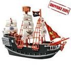 Deluxe Detailed Toy Pirate Ship Boat Christmas Gift Kids Sha