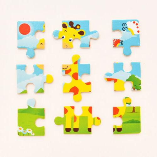 Development Wooden Puzzle Educational