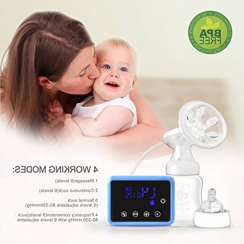 Bellababy Double Feeding Pumps Pain Free Strong Suction Panel