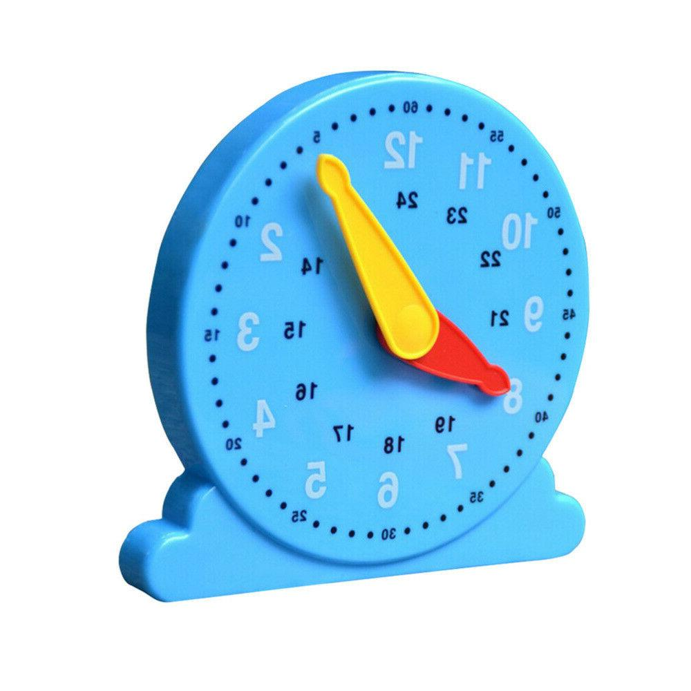 Educational Clock Counting Teaching Supplies Clock Toys for