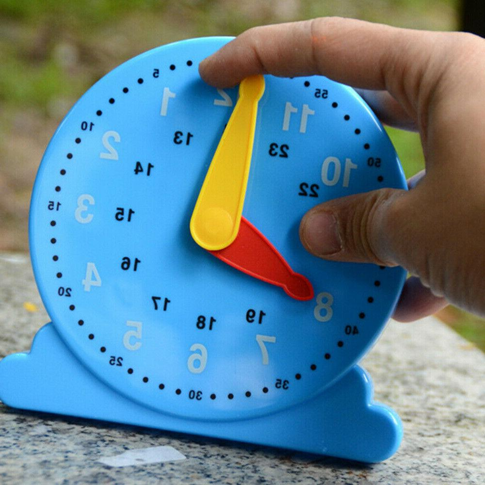 Educational Clock Counting Funny Teaching Supplies Clock Toy