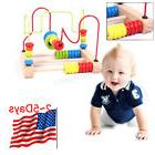 Fantastic First Bead Maze Wood Manipulative Toy for Toddlers