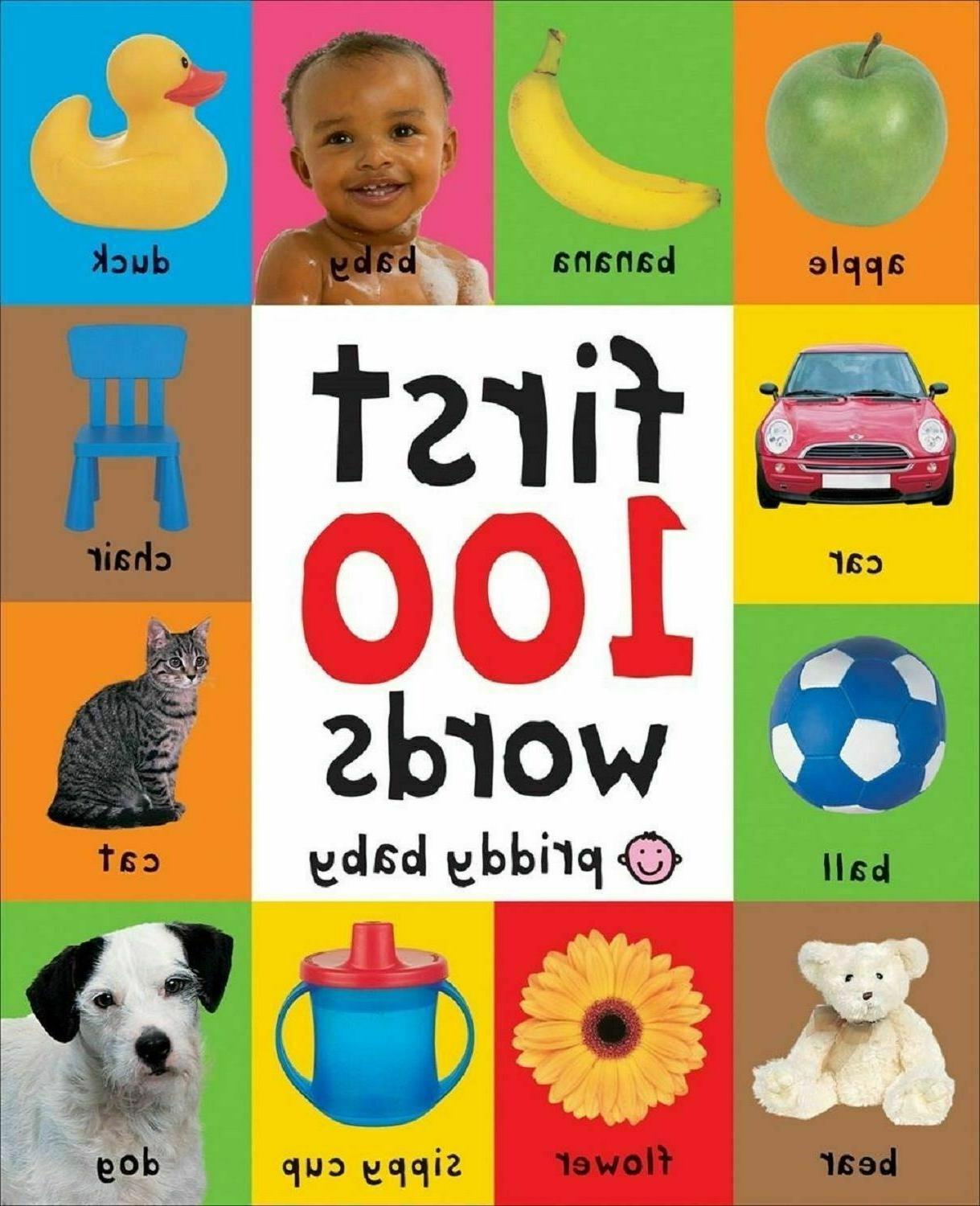 first 100 words board book learning