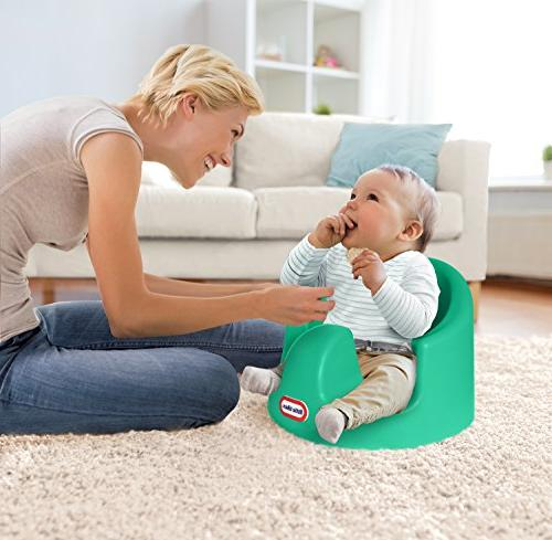 Little My First Seat Infant Foam Floor Sitting Support Chair, Teal