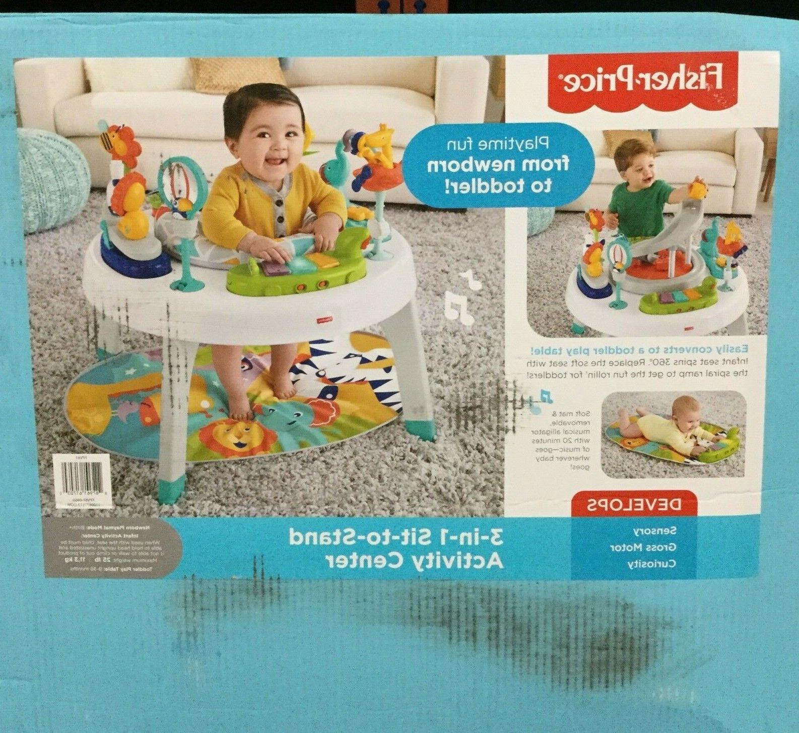 Fisher 1 to Stand Baby Toddler Jazzy