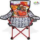 Folding Camping Chair for Kids Disney Cars Boys Toddler Baby