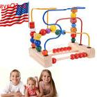 Funy First Bead Maze Wood Manipulative Toy for Toddlers EDC