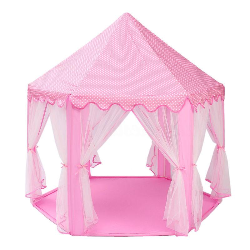 Girls Pink Cute Playhouse Kids Play
