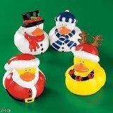 Holiday Christmas Rubber Duckies