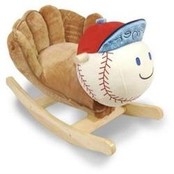 Rockabye Homer Baseball Rocker