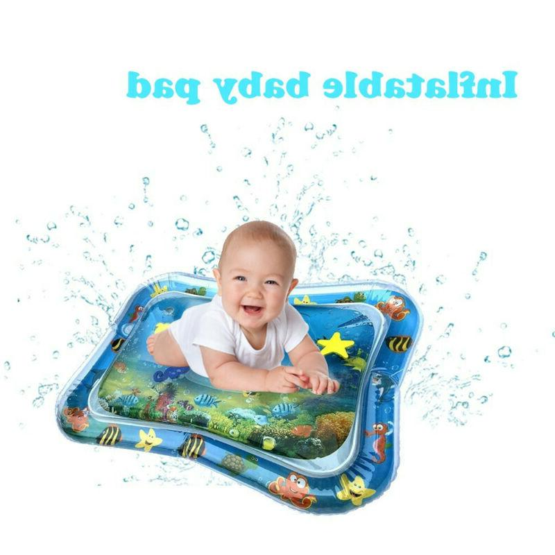 Inflatable Baby Water Mat Novelty Play Game Pad for Kids Inf