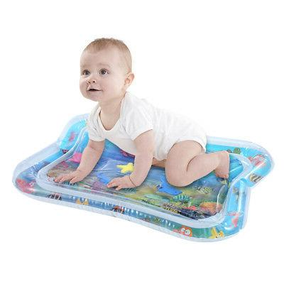 Inflatable Baby Water Mat: Fun Activity Play Center For Chil