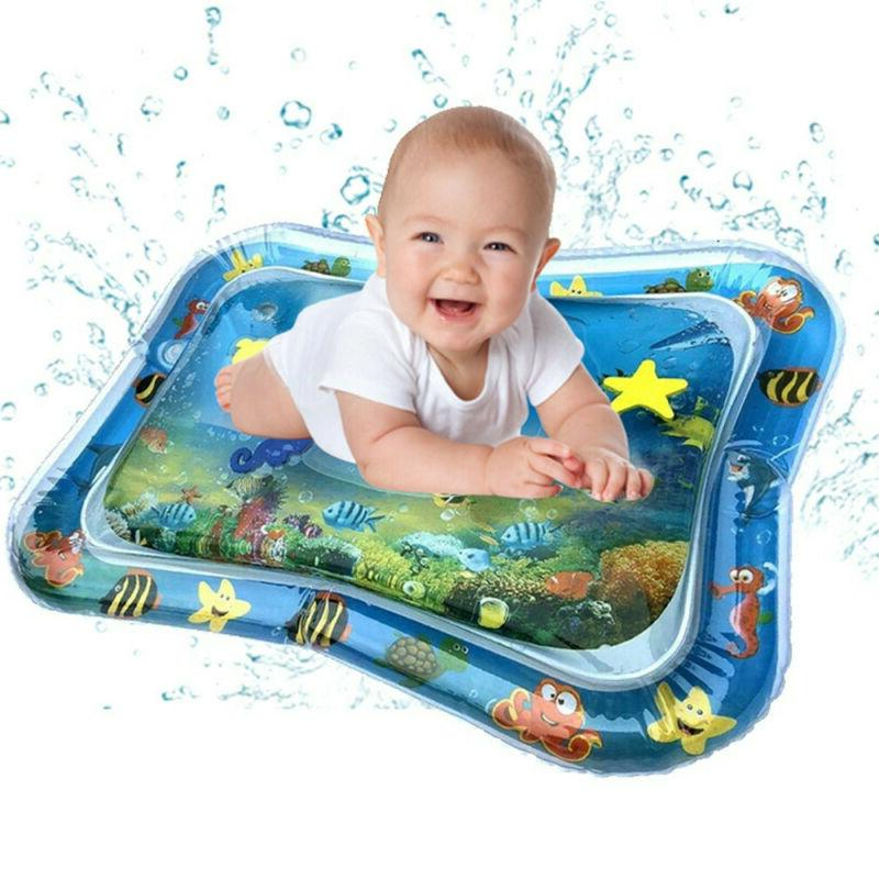 tummy fun time water play mat