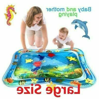 inflatable baby water mat novelty fish play