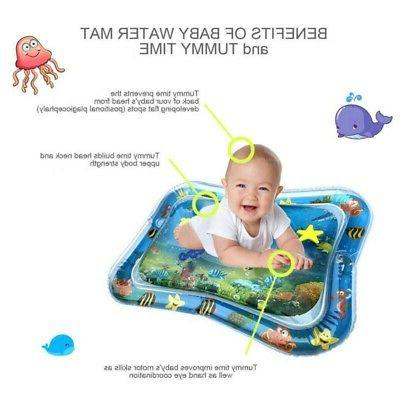 Inflatable Novelty Fish pad Tummy Time