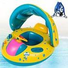 Inflatable Baby Bath Toys Pool Float With Sun Canopy Shade B