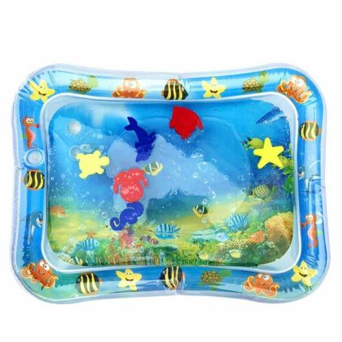 Inflatable Water Splash Playmat Tummy Time
