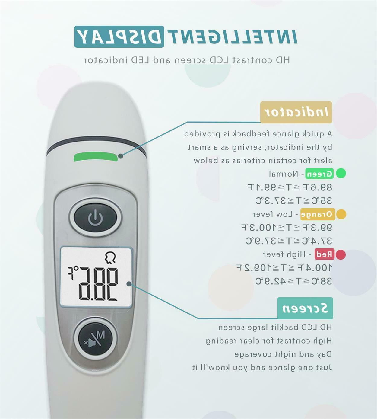 Digital Infrared Thermometer Body Baby Adult