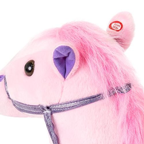 Best Products 36in Kids Horse Toy w/ Sounds -