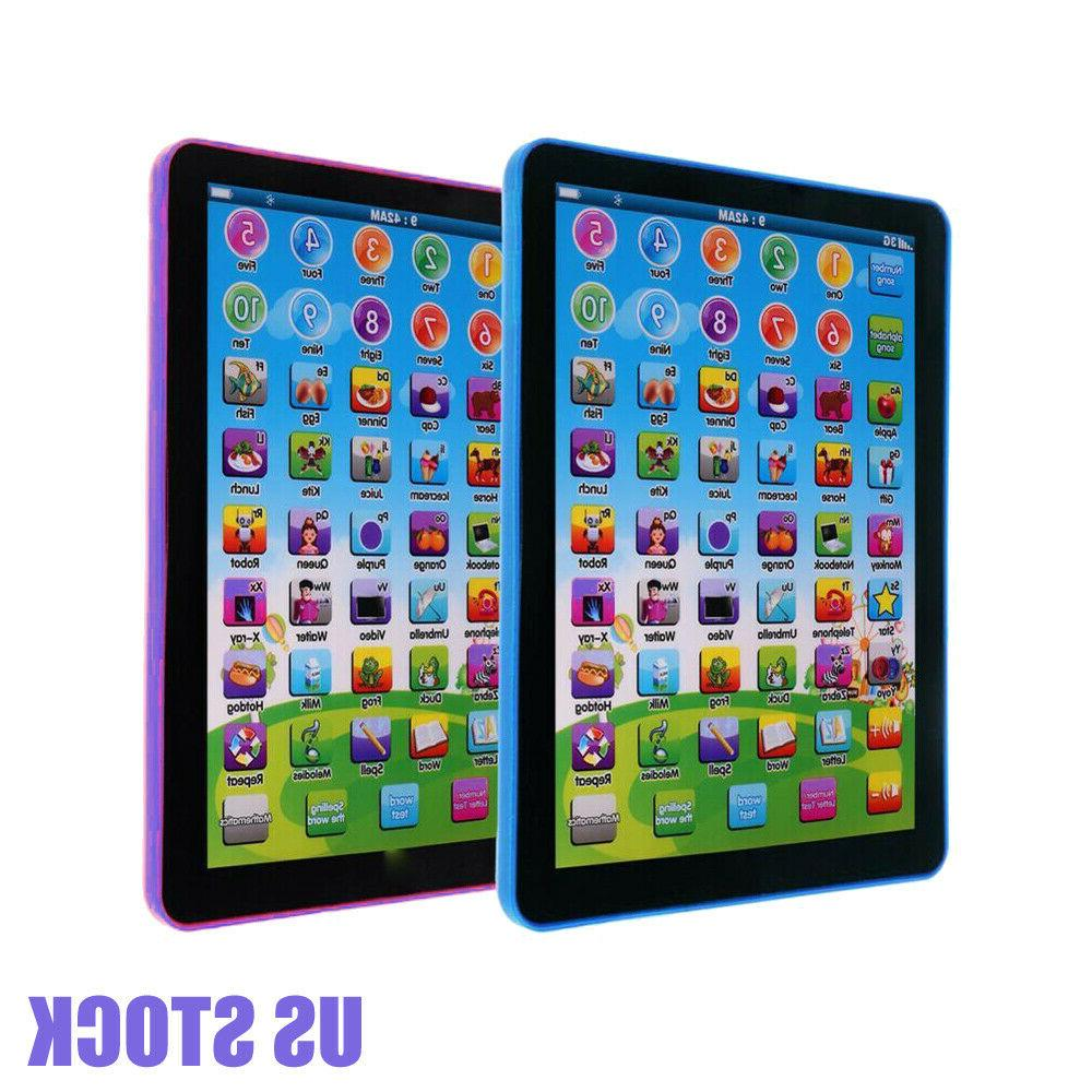 kid boys educational tablet learning toys pad