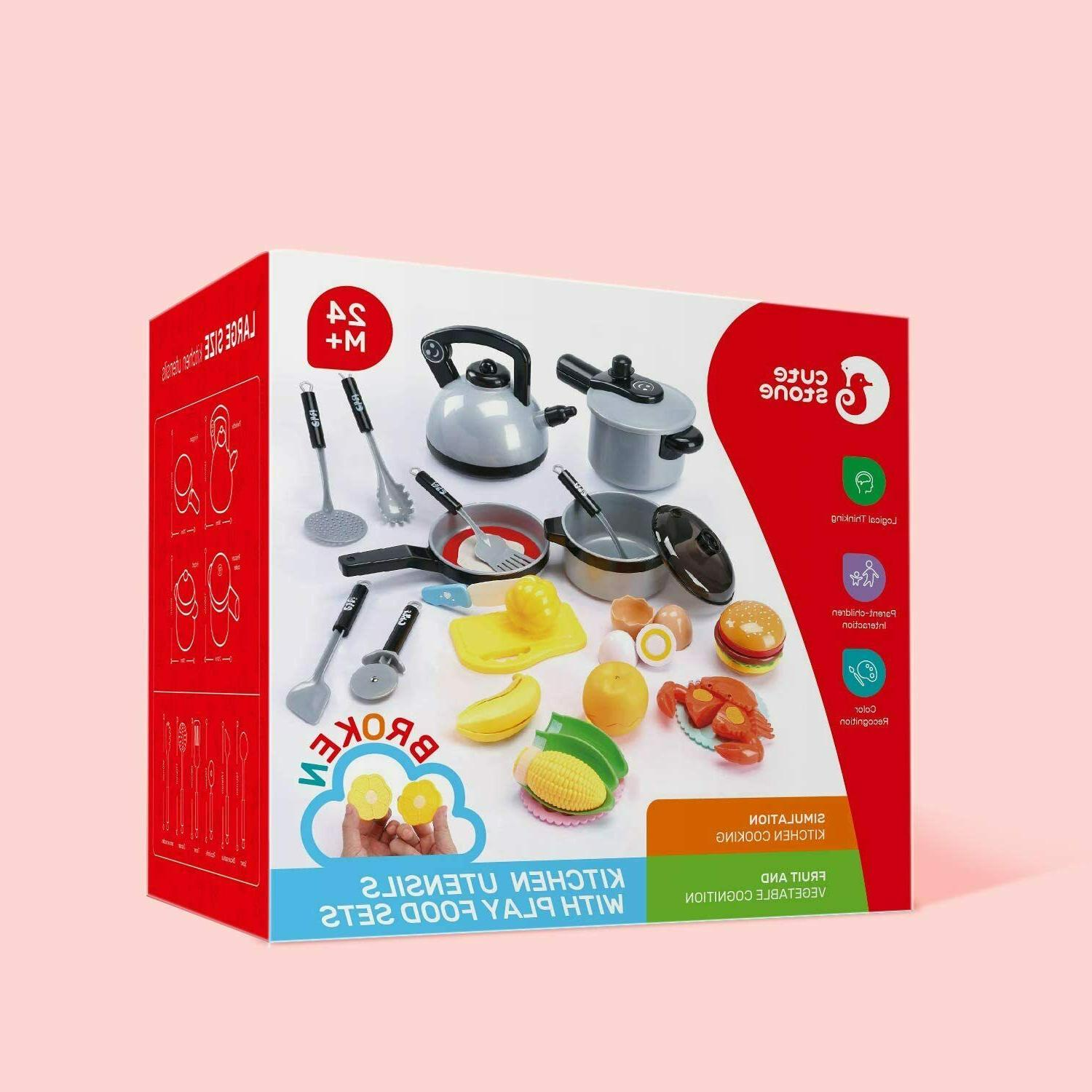 Cute Kids Kitchen Cooking Toys