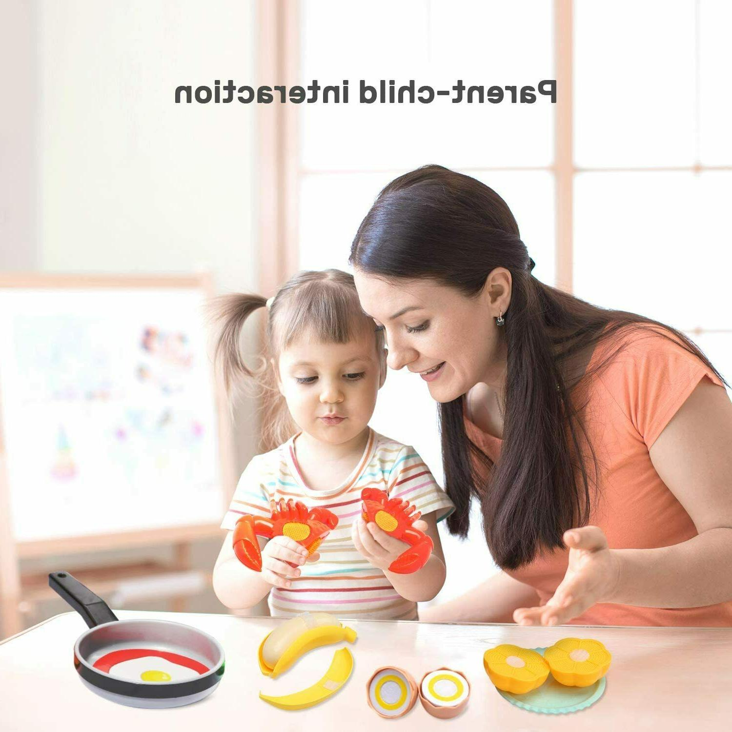 Cute Stone Kids Kitchen Playset Cooking Toys