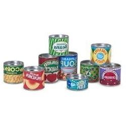Melissa & Doug Let'S Play House: Grocery Cans