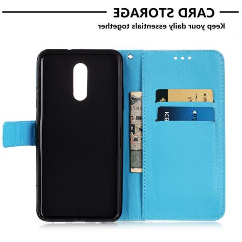 For LG Stylo Stand Case Flip Leather Card
