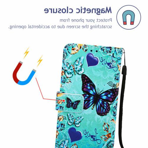 For LG Stand Phone Flip Patterned
