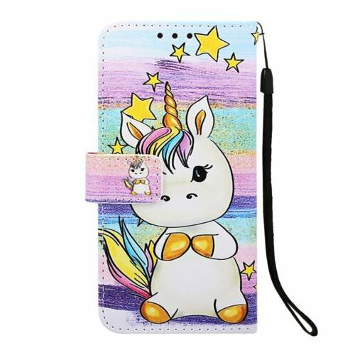 For LG Stylo 5/Stylo 4 Cover Patterned Leather Slot Flip Wallet