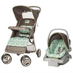 Cosco Lift & Stroll Travel System - Elephant Squares