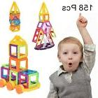 158 Pcs Magical Magnet Building Block Educational Toy For Ki