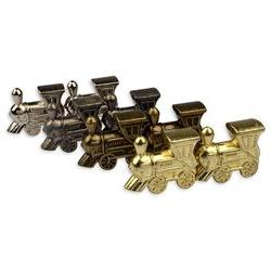 Metal Die Cast Mexican Train Domino Train Markers - Set of 8