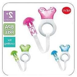 MAM Mini Cooler Teether with Clip - Neutral