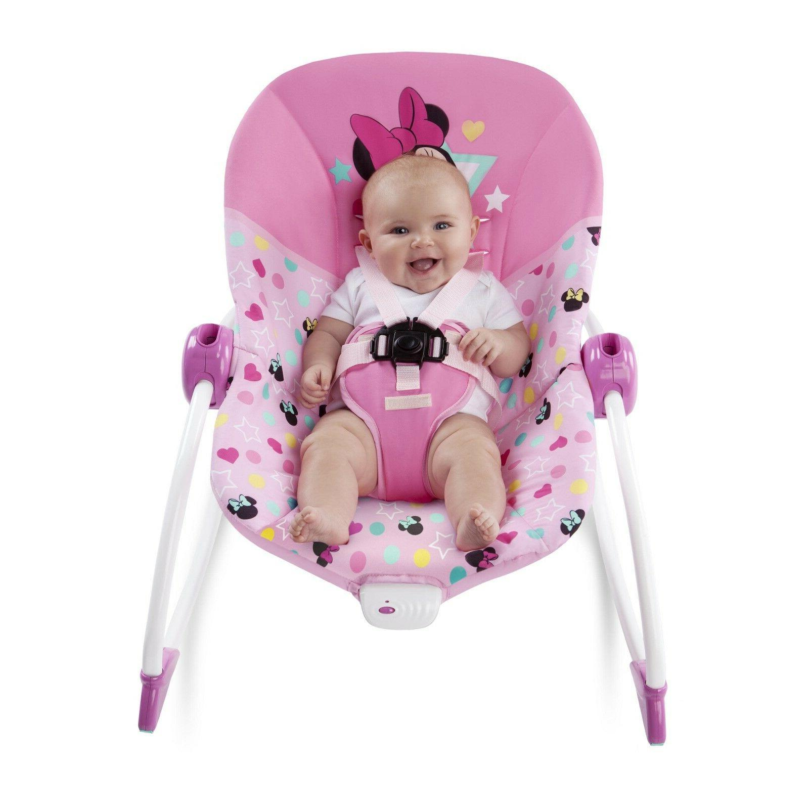 Disney Baby Minnie Mouse Infant To Toddler Rocker *AND * wal