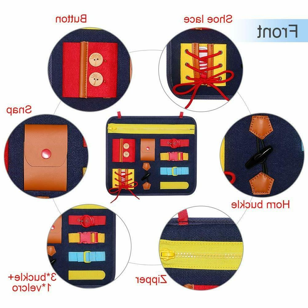 Montessori busy Dress for Toddlers