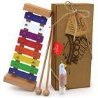Musical Toys Wooden Xylophone Kid Magical Sound Toddler Lear