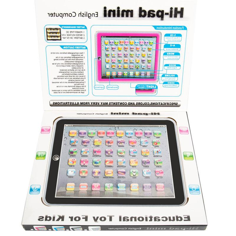 New Kids Children TABLET PAD Educational Learning Gift For Baby